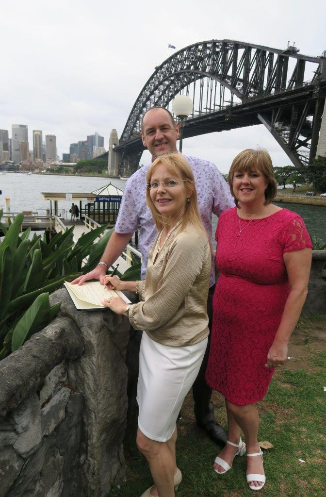 Celebrant for renewal of vows in Sydney