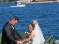 Marriage celebrant copes lookout, kirribilli