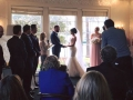 Sydney wedding celebrant at Dunbar House watsons Bay