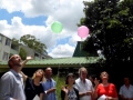 balloon release naming ceremony