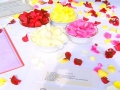 silk rose petals for naming day