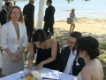 Marraige celebrant Dunbar House nwatsons Bay wedding