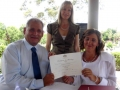 Sydney Marriage celebrant at Nurragingy reserve, Doonside - Copy
