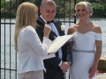 Marriage celebrant at Rowing club Abbotsford