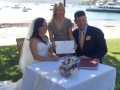 Sydney marriage celebrant, Orna Binder, watson Bay