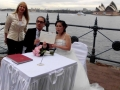 Overseas couple getting married in Sydney