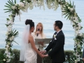 marriage celebrant at whale beach