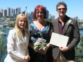 marriage celebrant, balls head reserve wedding