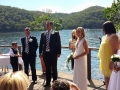 wedding celebrant at Cottage Point