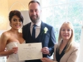 wedding ceremony Dunbar House Watsons Bay, Sydney celebrant