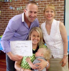 Naming Day Celebrant Woodcroft NSW