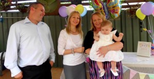 Naming Ceremony celebrant Seven Hills