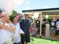 balloons release ritual in naming ceremonies
