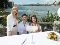 Marriage celebrant at Copes lookout wedding