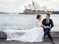 Opera house wedding