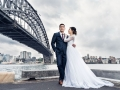 Sydney bridge wedding