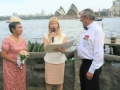 Wedding ceremony at Copes Lookout with Sydney celebrant