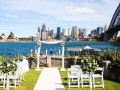 wedding at copes look out Kirribilli