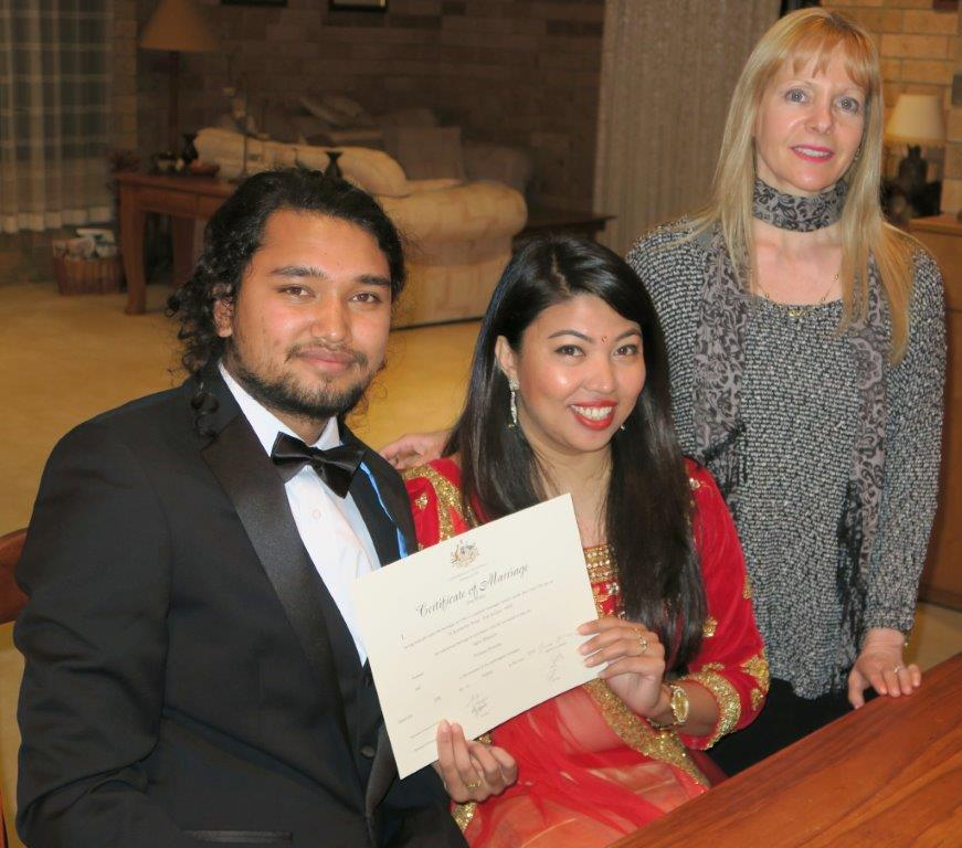 Sydney Marriage Celebrant, Nepalese Weddings