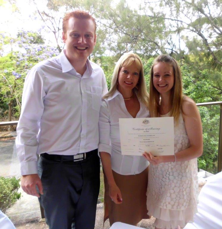budget marriage celebrant north shore