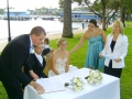Marriage celebrant at Watsons Bay
