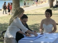 wedding celebrant at Dunbar House watsons bay