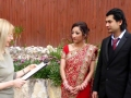 Marriage ceremony on a budget