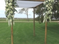 Chuppah with Sydney marraige celebrant