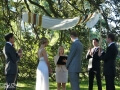 wedding ceremony at Centennial park Sydney