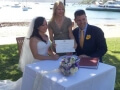 Sydney marriage celebrant, Orna Binder, watsons Bay