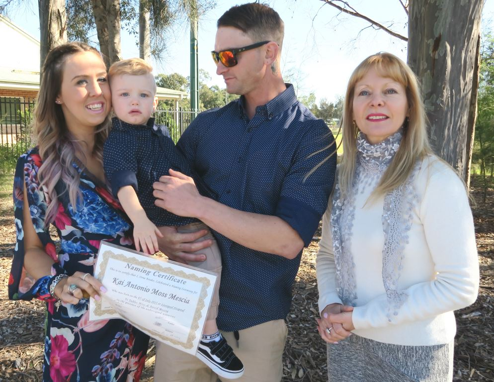 Naming Day Celebrant in Wattle Grove