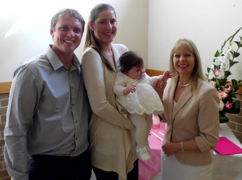 Naming ceremony in Blair Athol