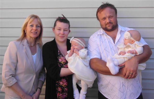 Twins naming ceremony at Revesby