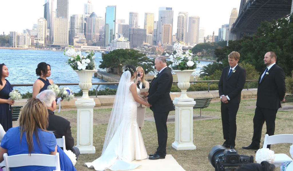 wedding celebrant in Sydney