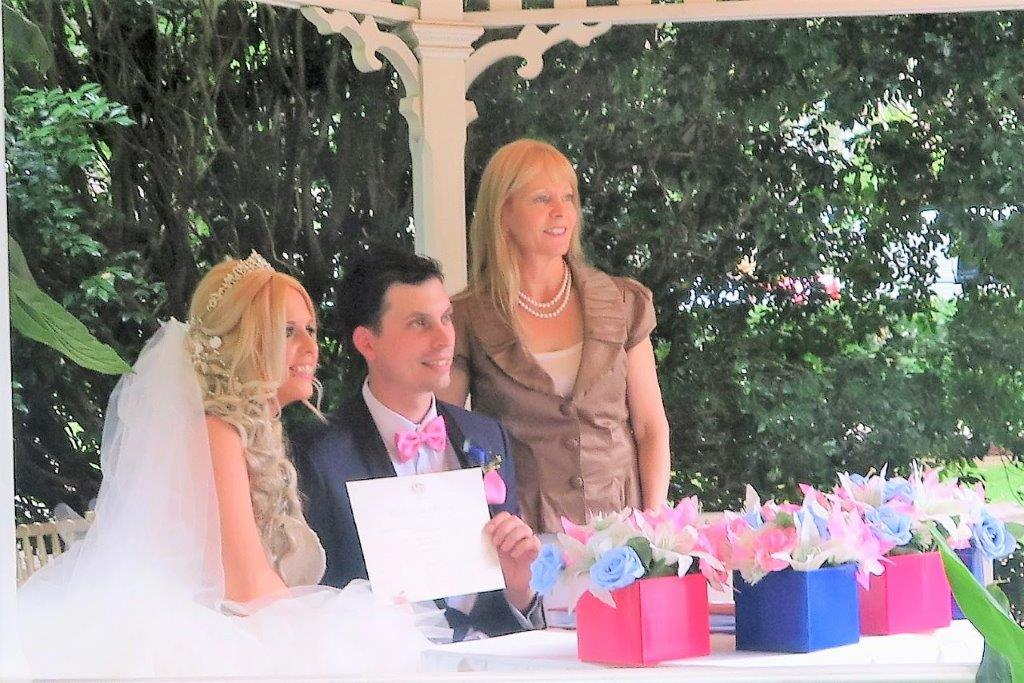 Curzon Hall marriage celebrant