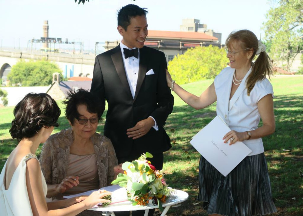 Observatory Hill celebrant,Sydney Marriage Celebrant
