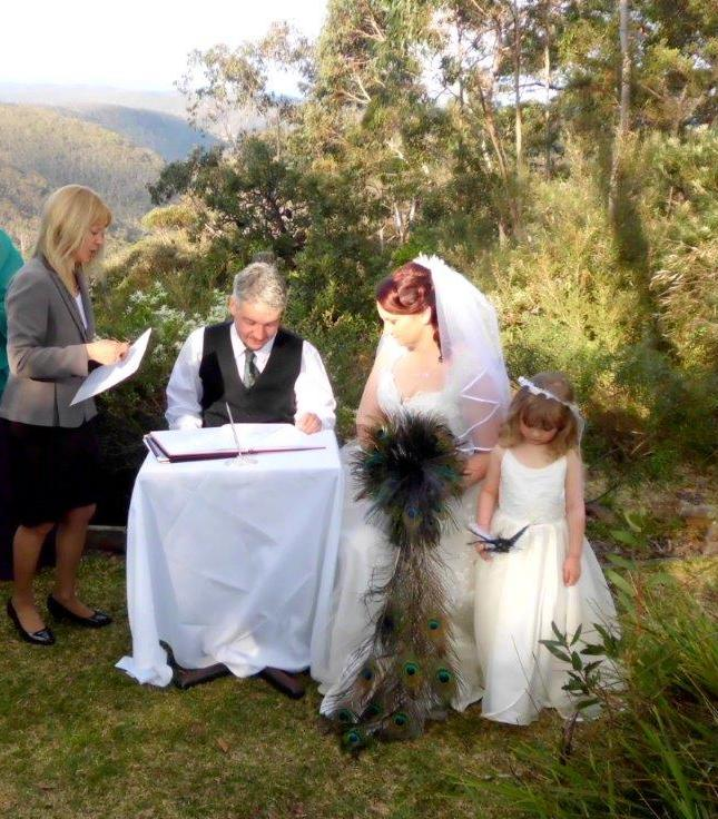 marraige celebrant Blue Mountains
