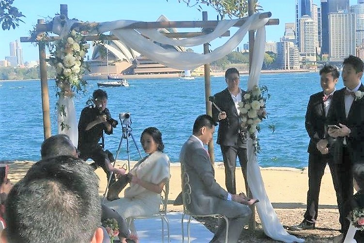 marriage celebrant in Sydney