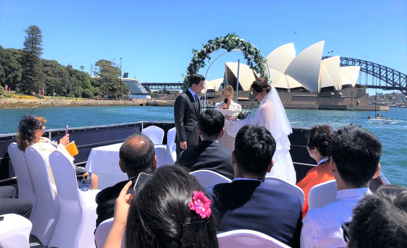Wedding-on-Sydney-Harbour