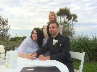 Sydney marriage celebrant at Harbord