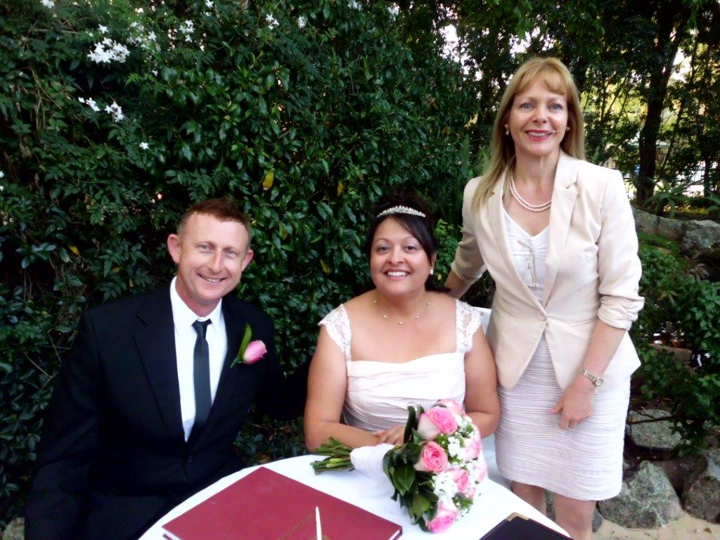 marriage celebrant in Sydney, Terry Hills north Shore
