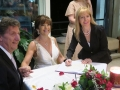 Botanic gardens restaurant wedding, Sydney Marriage Celebrant