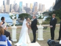 Bradfield park wedding ceremony