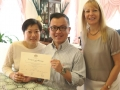 Home wedding ceremony, Sydney Marriage Celebrant