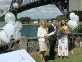 Sydney celebrant at Copes lookout, Sydney Marriage Celebrant