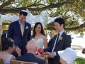 Tea wedding ceremony Watson Bay