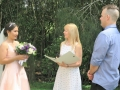Wedding celebrant at wedding park Sydney