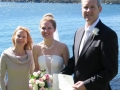 marriage celebrant, wedding Shark Island Sydney