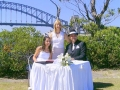 Marriage ceremony , Blue Point road, Sydney