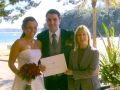 celebrant Wedding ceremony, Shelly Beach